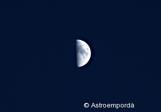 Astromartos 2011: quart creixent