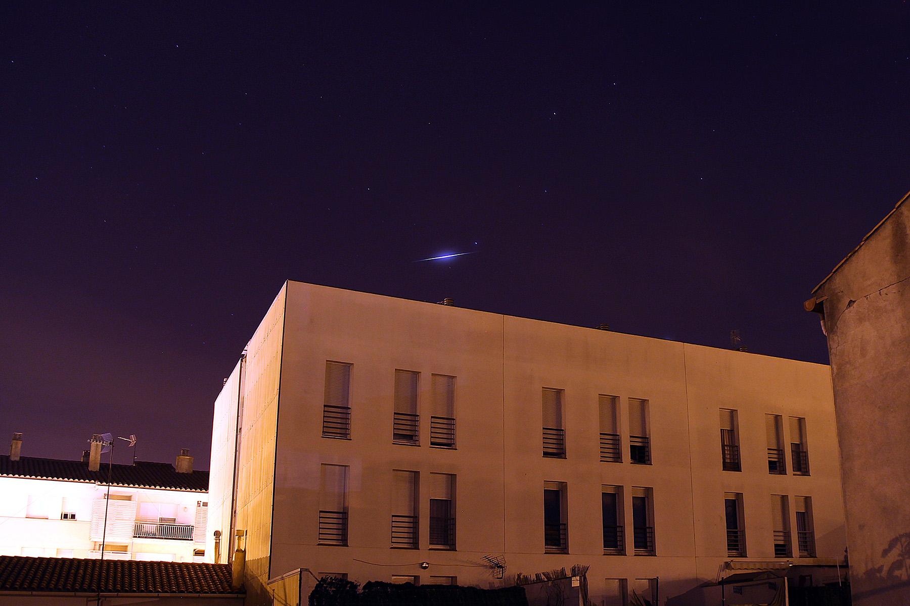 Satèl·lit Iridium magnitud -6.5