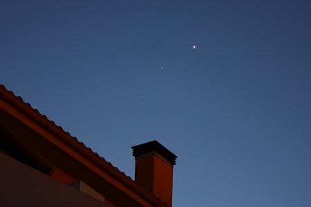Conjunció mart-júpiter-venus