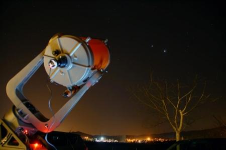Venus i Júpiter a punt pel telescopi