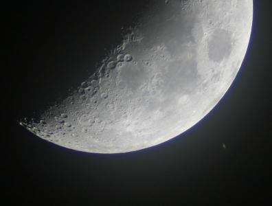 Ocultació de Saturn per la Lluna