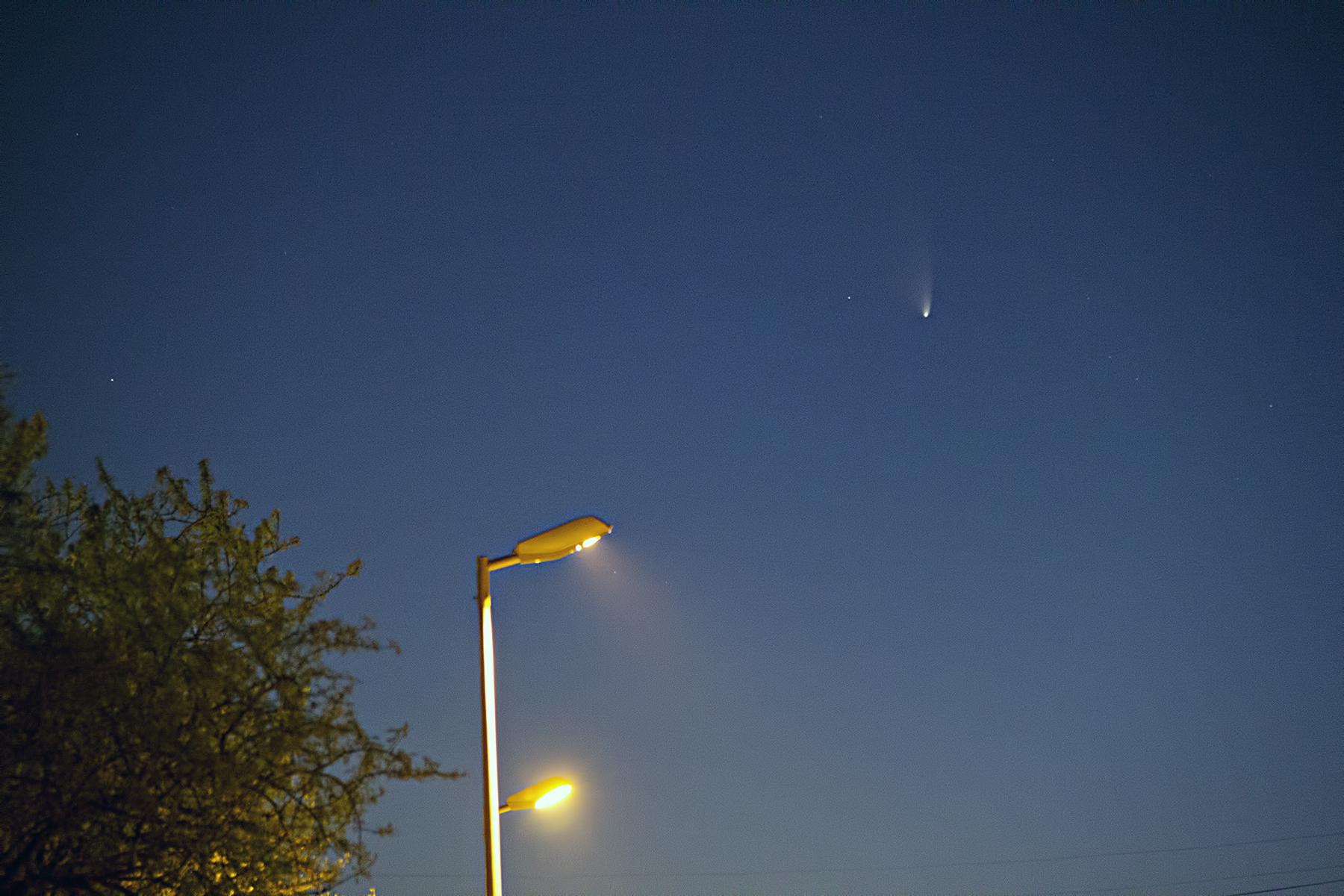 Cometa C/2011 L4 Panstarrs 18/03