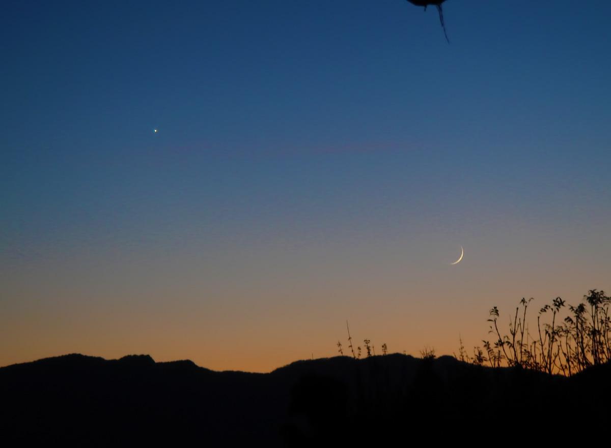 Conjunció Venus - Lluna Per la 8a trobada d\'Agrupacions