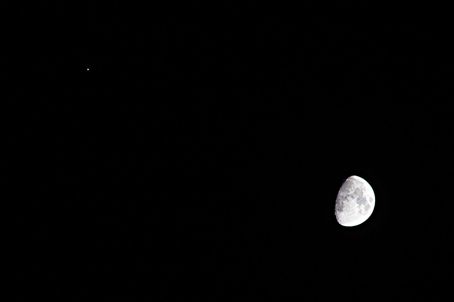 Conjunció Júpiter i Lluna