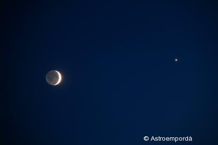 Conjunció Venus - Lluna