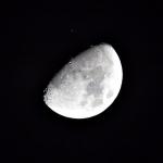 La lluna ocultant Aldebaran