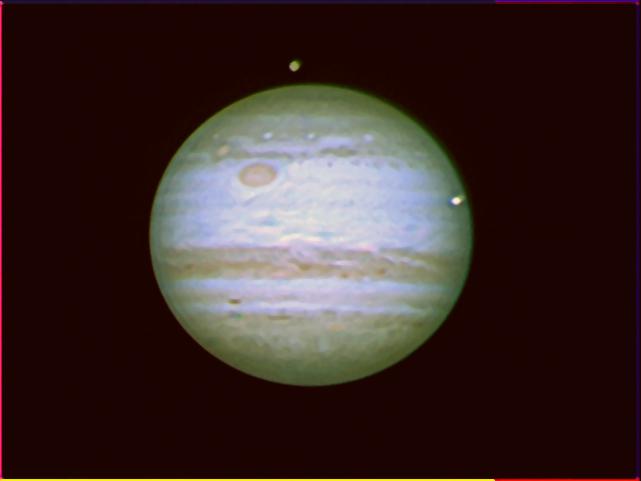 Júpiter en RGB del 5/10
