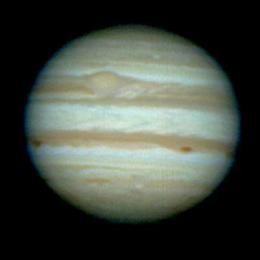 Júpiter en RGB del 21/11
