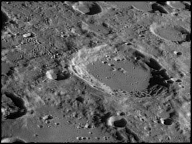 Cràter Blancanus a la lluna