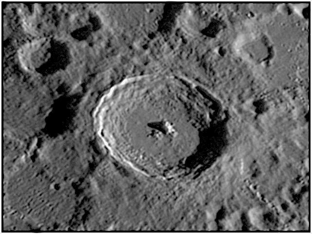 Cràter Tycho a la lluna