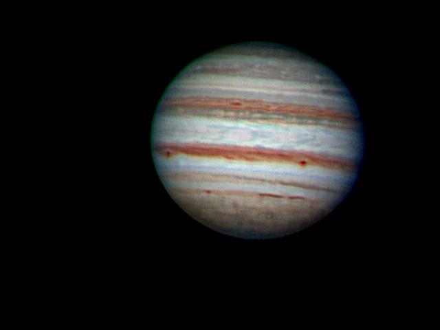 Júpiter en RGB del 17/11