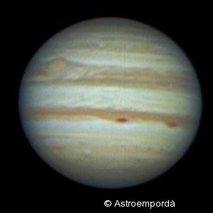 Júpiter en RGB del 25/11