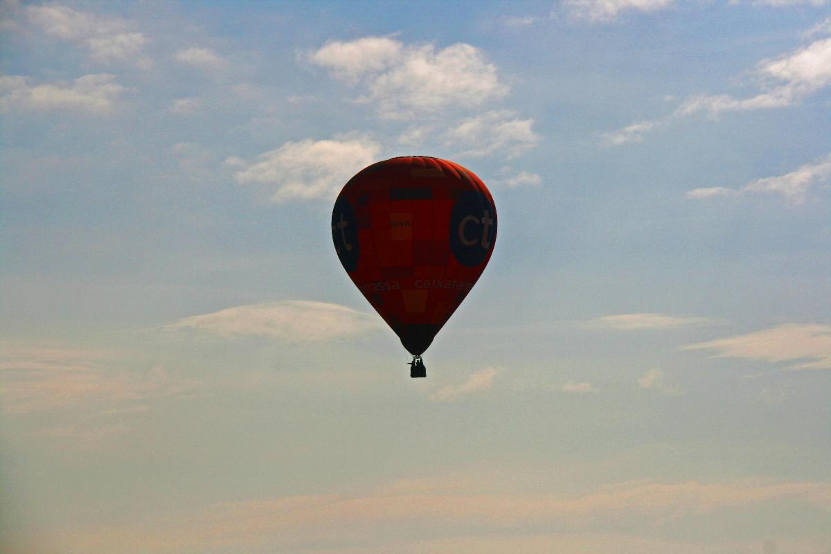 Companys de viatge en globus