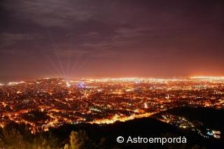 Barcelona des de l'Observatori Fabra