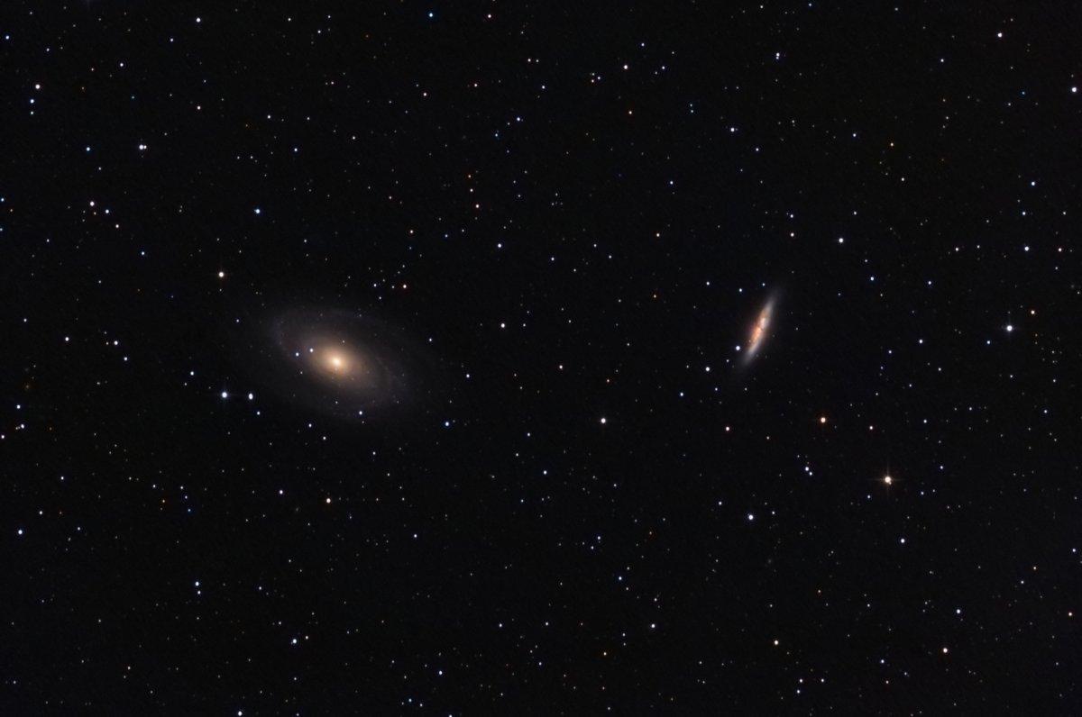 Galàxies M 81 i M 82