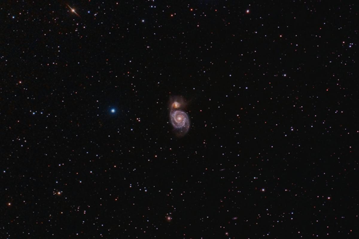 M 51 Galàxia Whirlpool