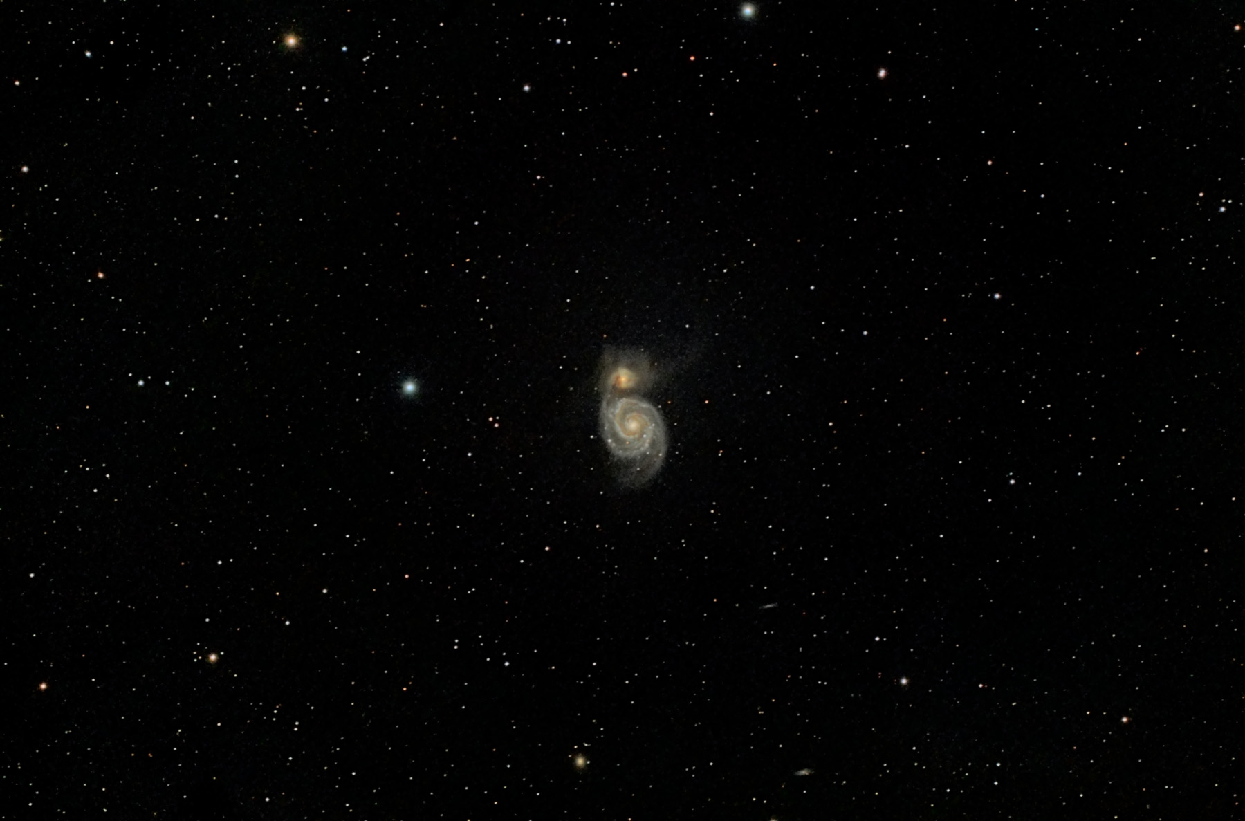 Supernova a M 51 Whirlpool