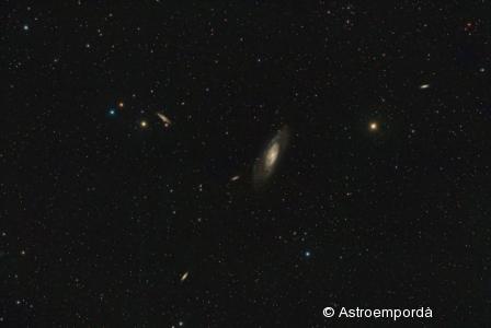 Galàxia M 106 et al.