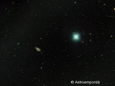 Galàxia M109 al costat de Phad