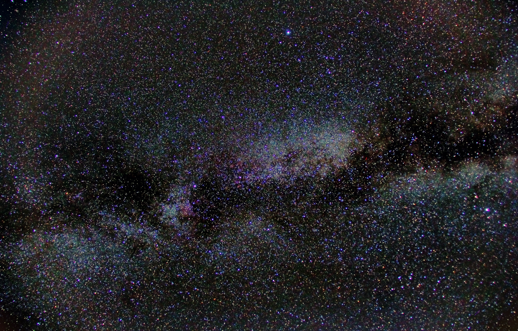 Via làctea a cygnus