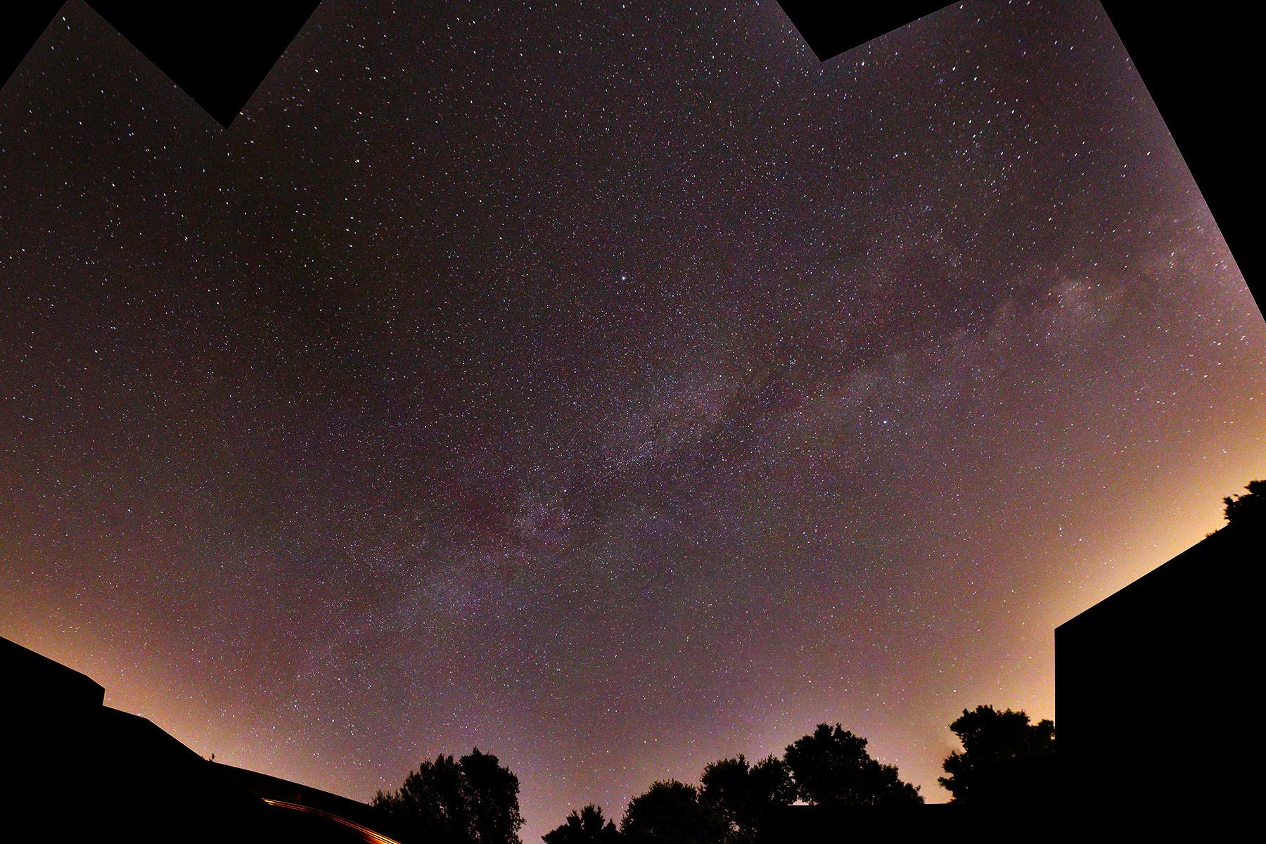 Panoràmica de la via làctea