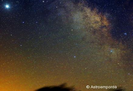 Via làctea a sagitari i júpiter