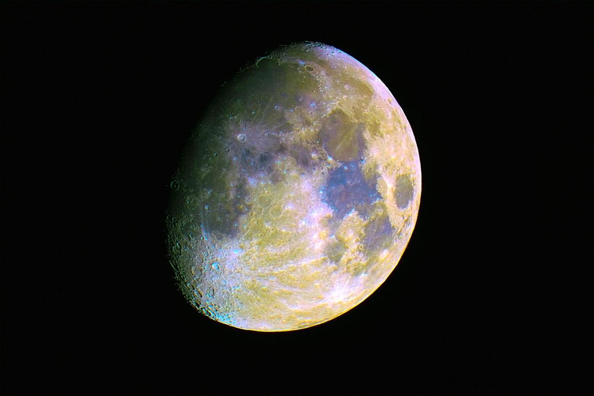 La lluna a color