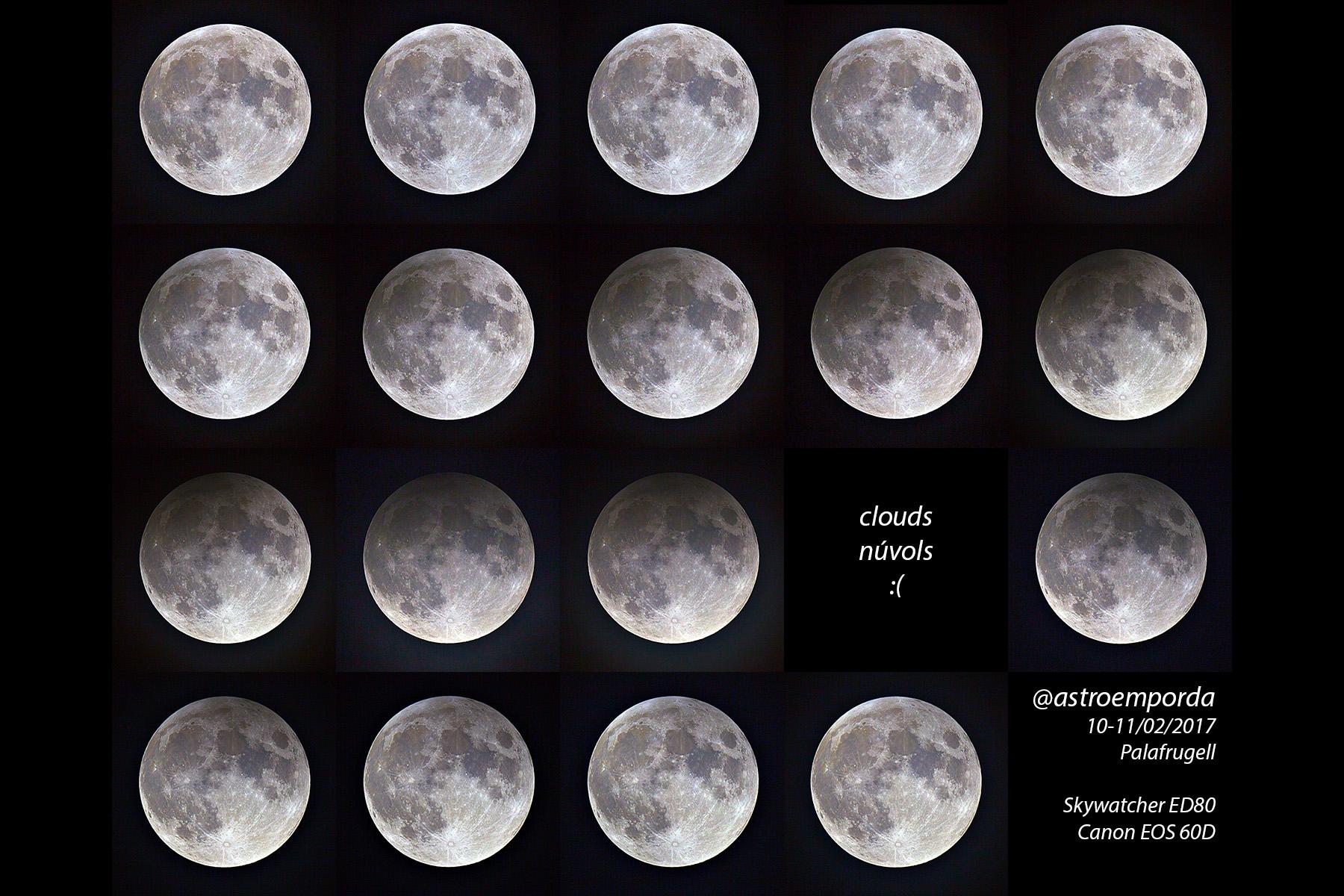 Muntatge de tot l\'eclipsi penombral