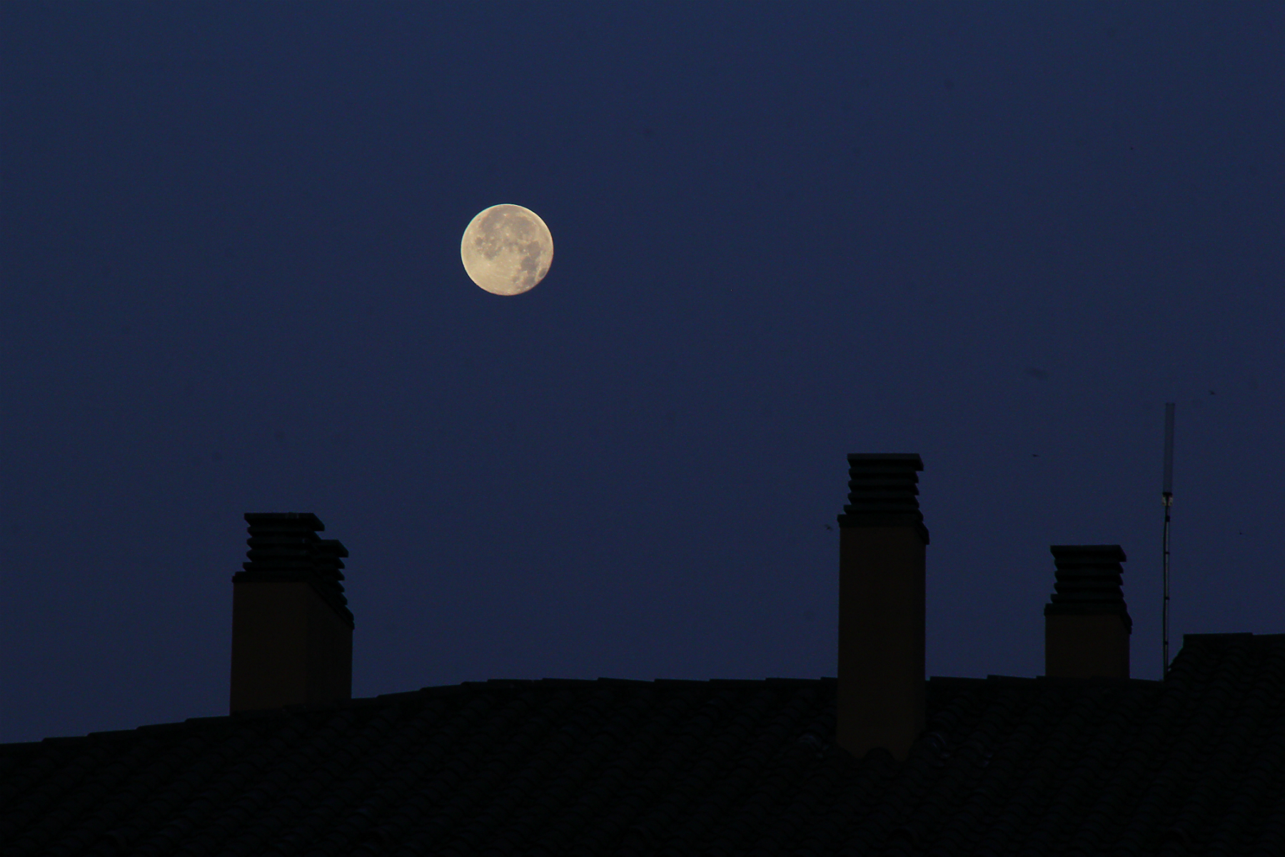 Lluna plena ponent