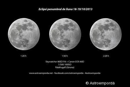 Eclipsi penumbral de lluna