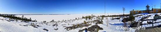 Panoràmica al far de Bjuröklubb