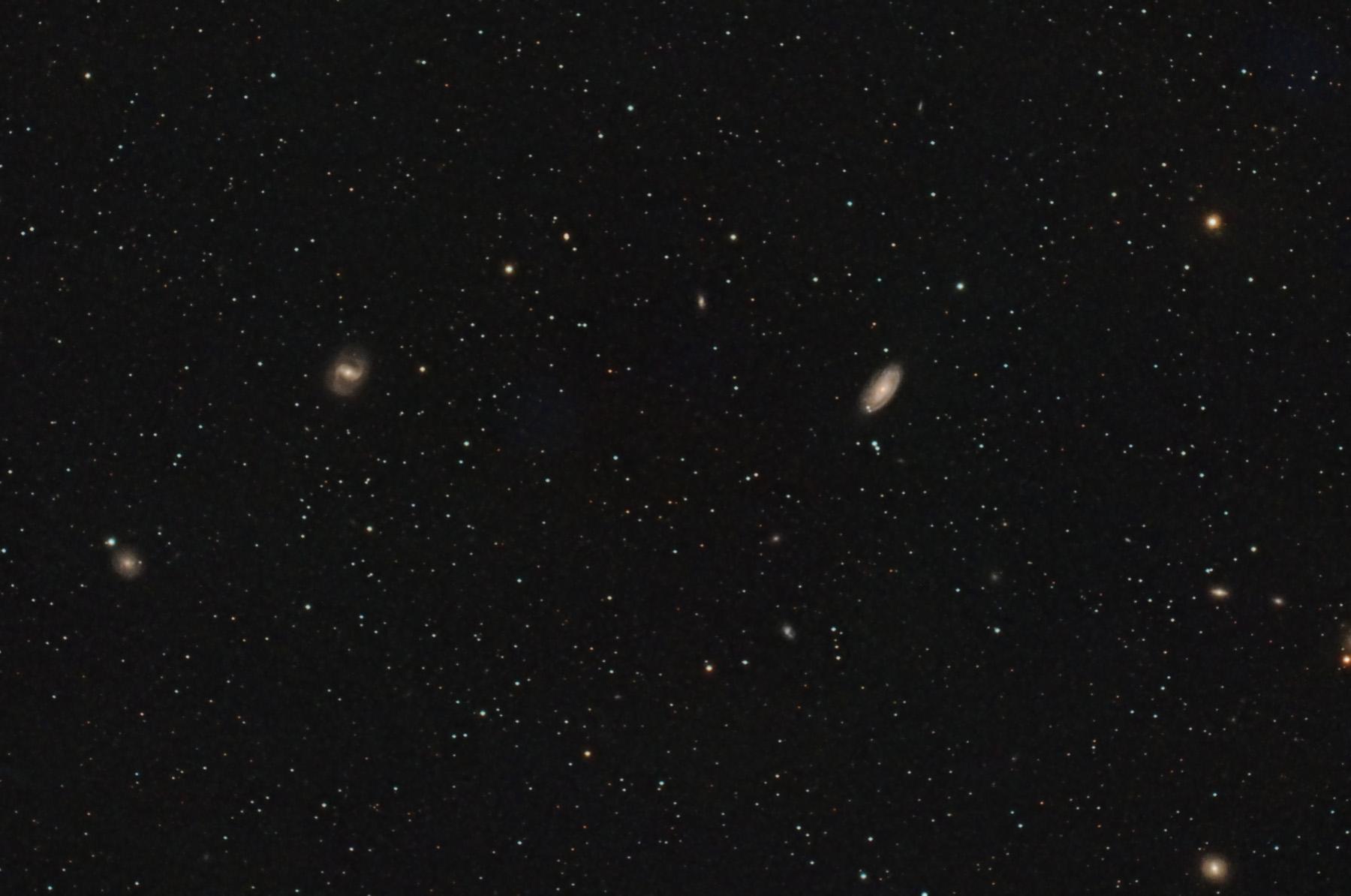 Galàxies M88 i M91