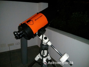 "Celestron C8 ""Clockwork Orange"""