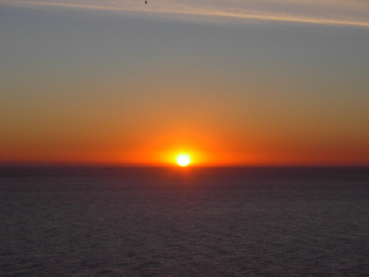 Sortida del primer sol de l'any
