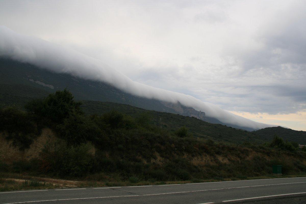 Tempesta per sobre els pirineus