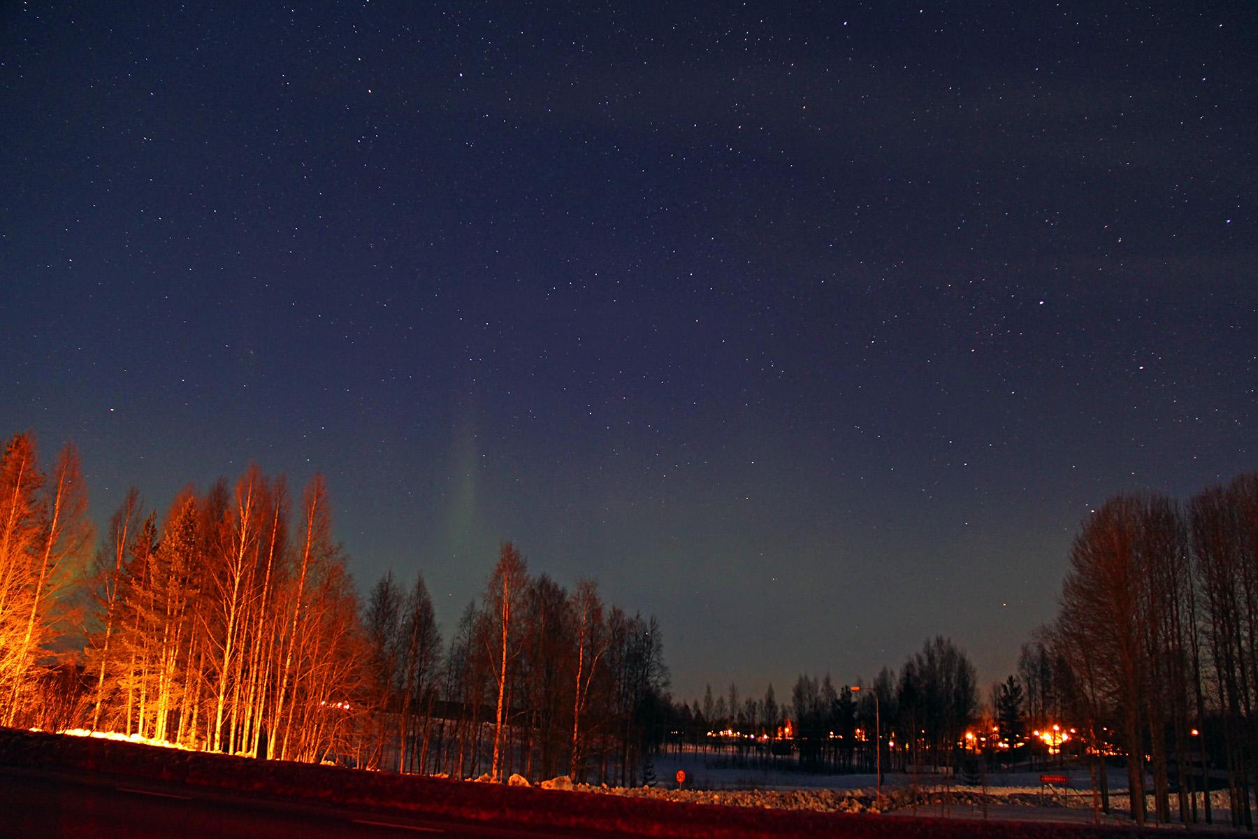 Aurora a Suècia