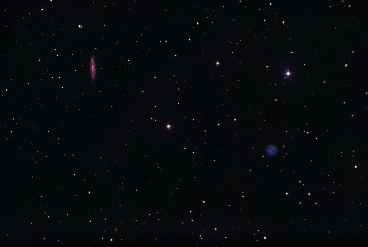 M 97 Nebulosa de la òliba - M 108