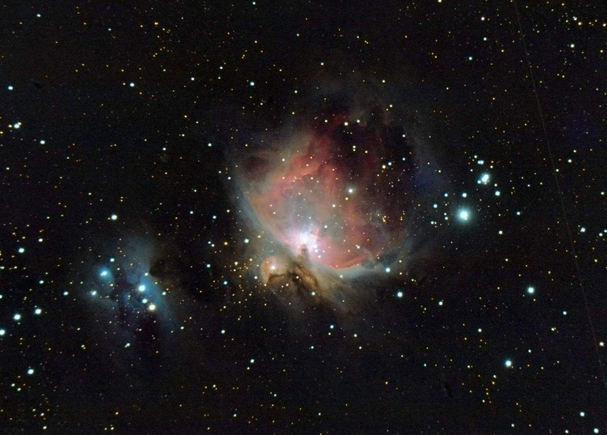 M 42, la nebulosa d\'orió