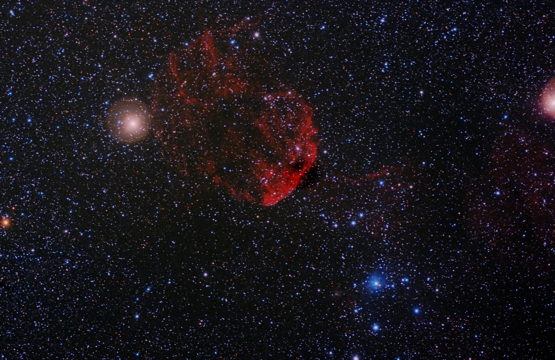 Nebulosa de la medusa IC 443