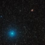 Nebulosa del cranc M1 i Zeta Tau