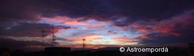 Posta de sol a Palamós