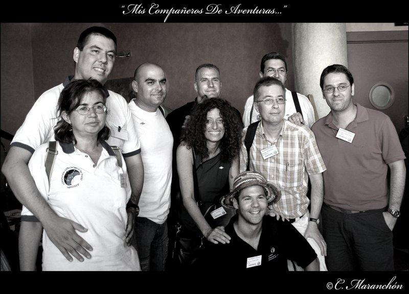 Companys d'afició a Astromartos 2007