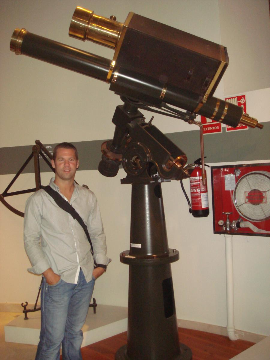 Telescopi Comas i Solà a l'Observatori Fabra
