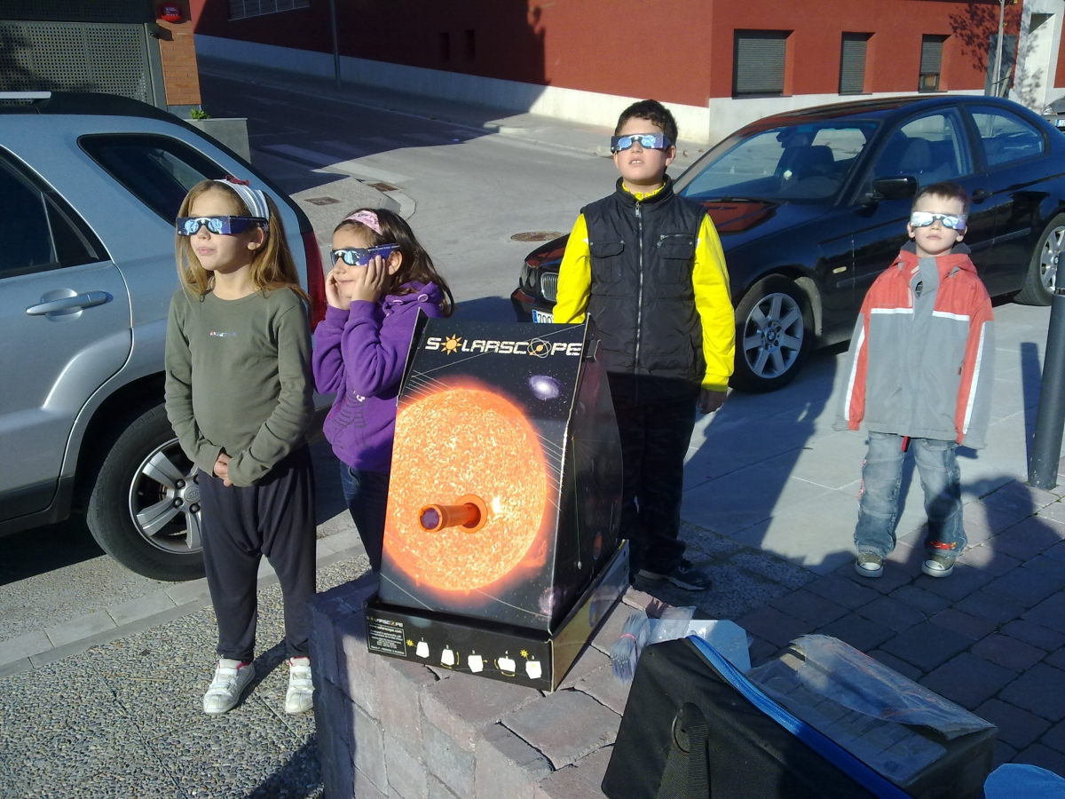 Observació per nens a Palafrugell