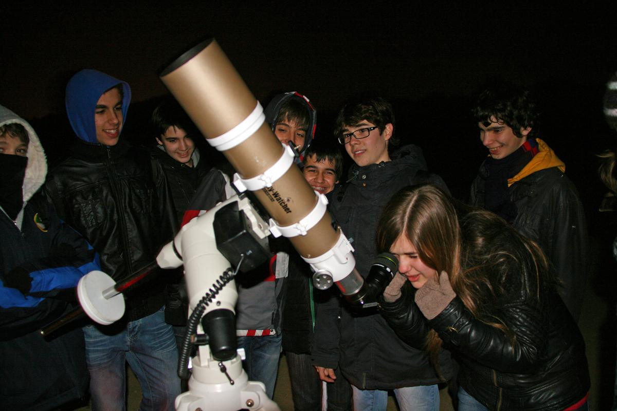 Observació amb alumnes Vedruna