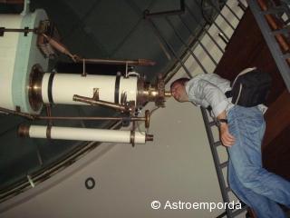Telescopi Mailhat a l'Observatori fabra