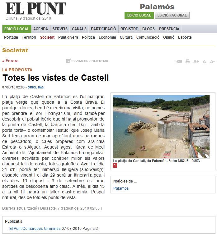 Totes les vistes de Castell