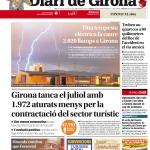 Una tempesta elèctrica fa caure 2.020 llamps a Girona