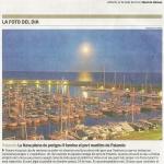 Súper lluna plena al Diari de Girona