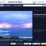 Llamps a les galeries de la Vanguardia
